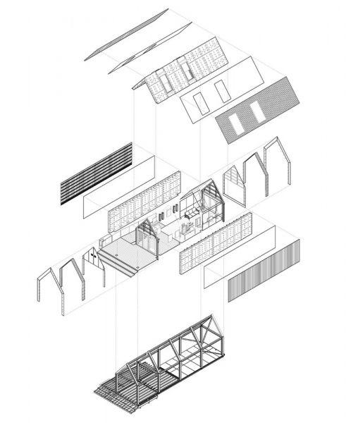 Esquema montaje - Circular Building - Arup