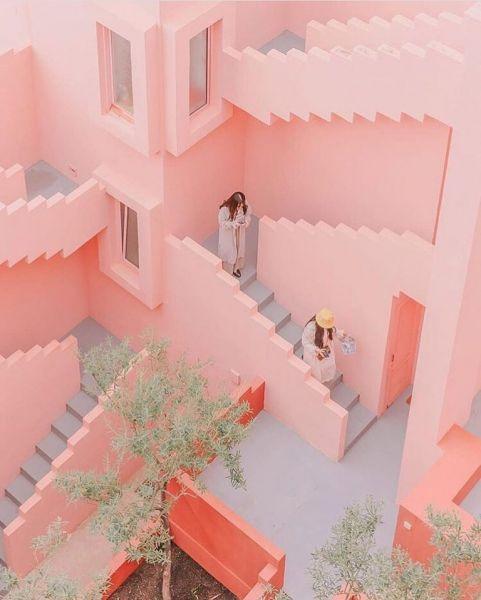 muralla roja bofill arquitectura instagram