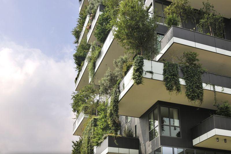 Proyecto jardin vertical en Milan