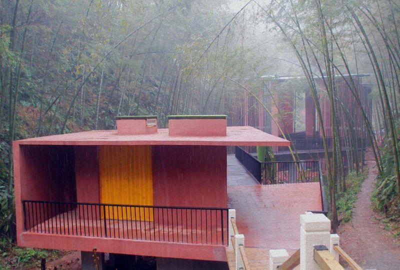 arquitectura_y_empresa_Bamboo gateaway_ tea pavilion