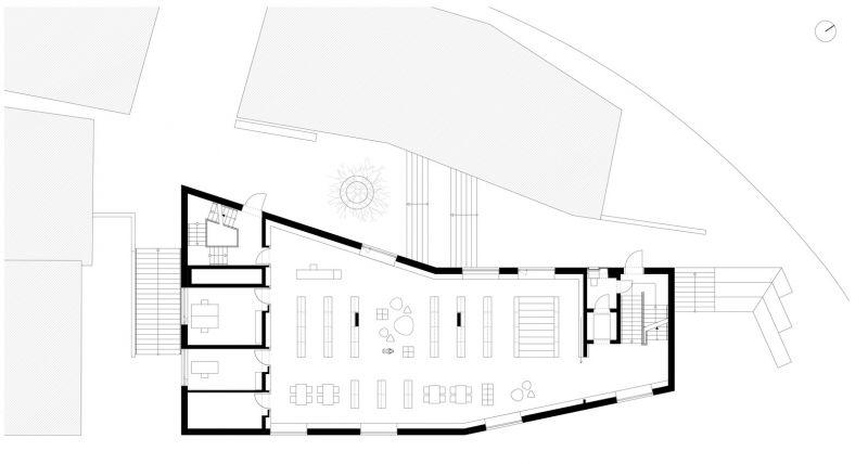 arquitectura_y_empresa_biblioteca Rottenburg_plan 1