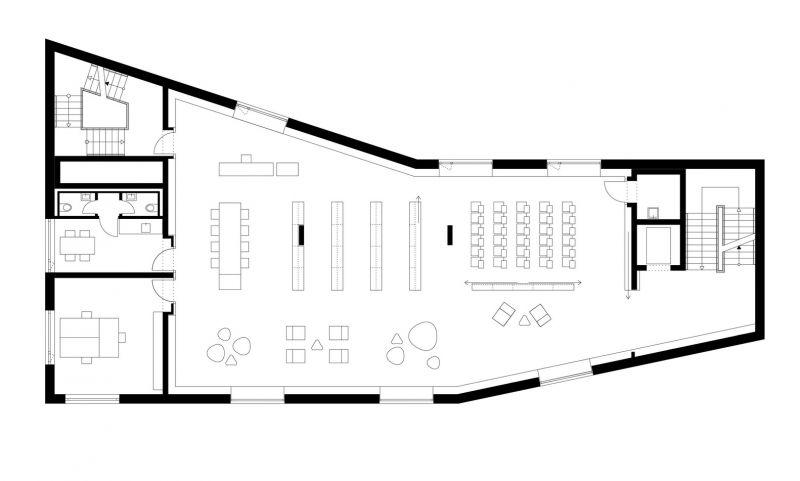 arquitectura_y_empresa_biblioteca Rottenburg_plan 2