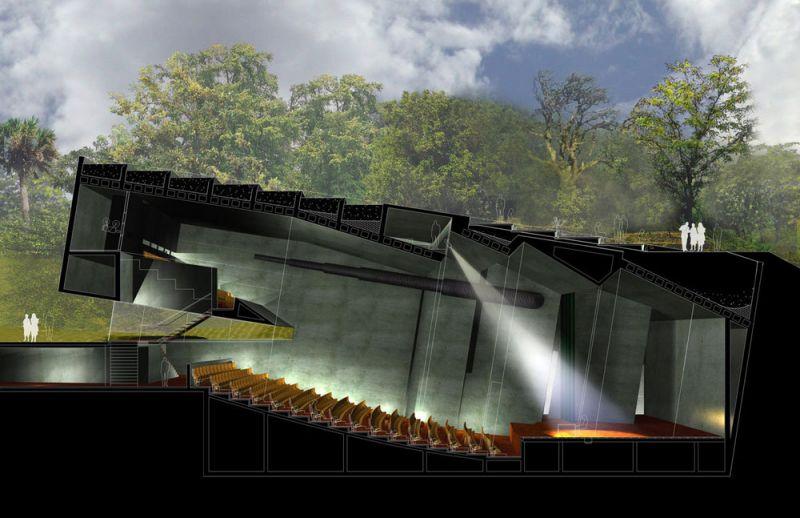 arquitectura biblioteca vasconcelos alberto kalach auditorio