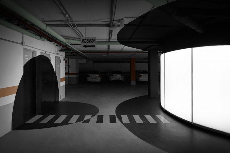 arquitectura boma estudio showroom 360 foto garaje