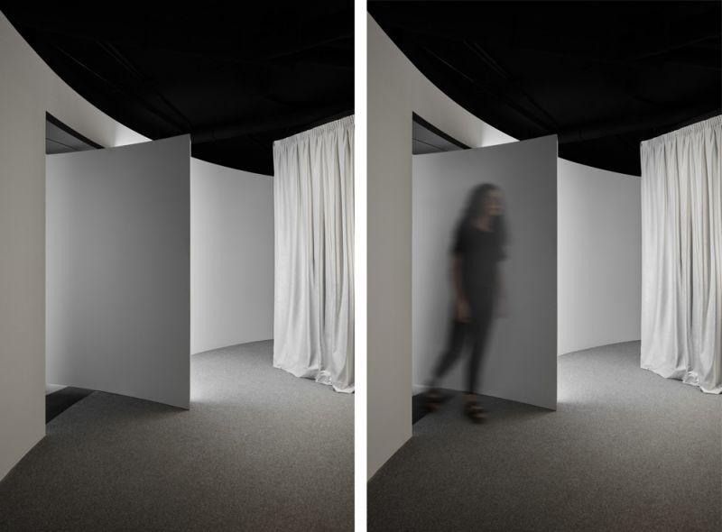 arquitectura boma estudio showroom 360 foto garaje detalles acceso