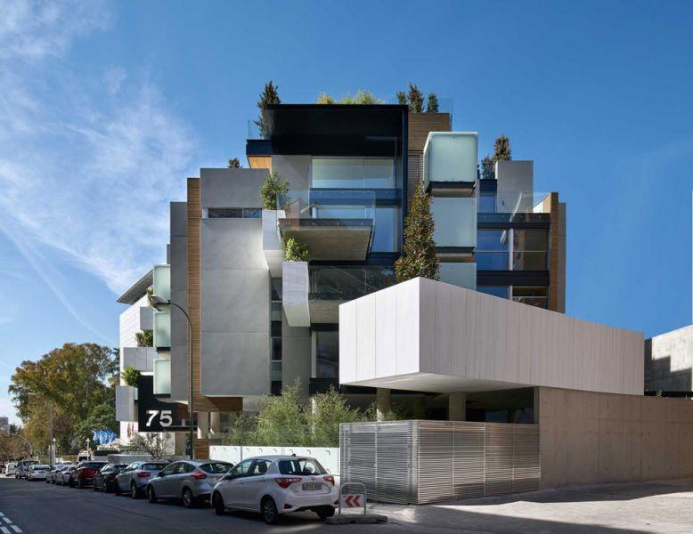 arquitectura bueso inchausti & Rein arquitectos edificio paseo la habana 75 madrid fachada