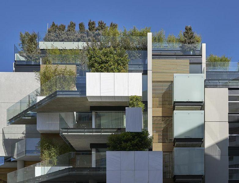 arquitectura bueso inchausti & Rein arquitectos edificio paseo la habana 75 madrid fachada detalle