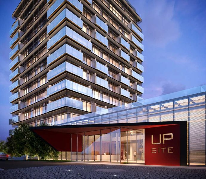 arquitectura torres up-site Bueso-Inchausti & Rein Arquitectos render exterior