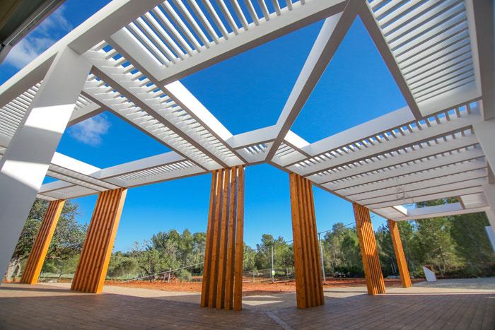 arquitectura y empresa_can tanca_pérgola