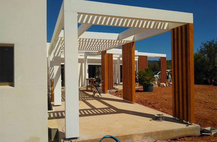 arquitectura y empresa_can tanca_ pérgola