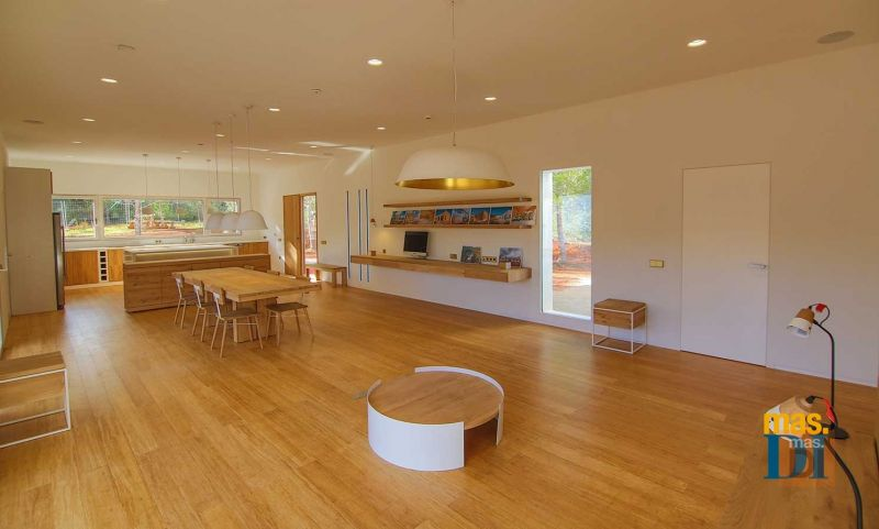 arquitectura y empresa_can tanca_salón cocina