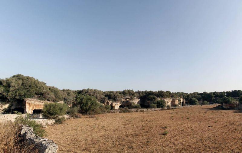 Exterior cantera y paisaje