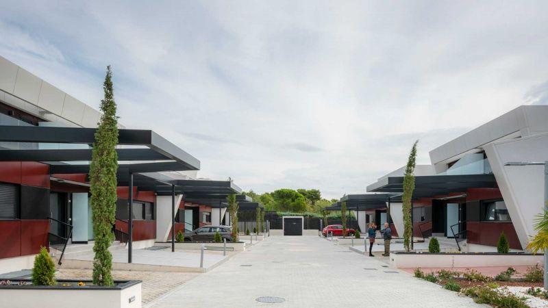 arquitectura y empresa carrillo arquitectos e-domus vista exterior viviendas