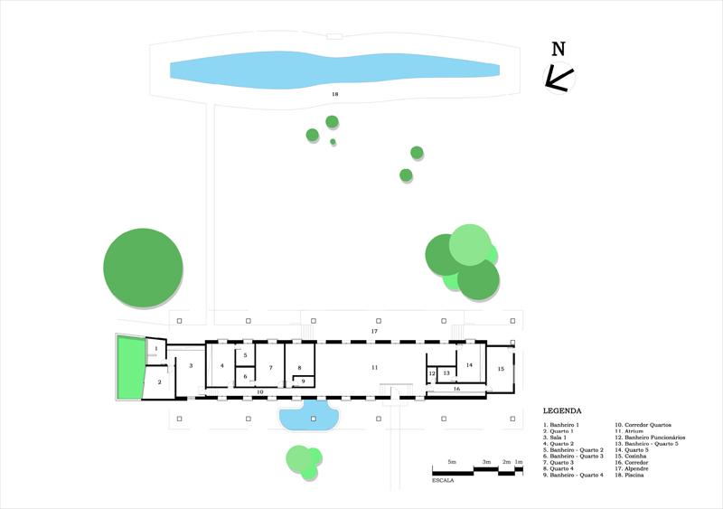 Casa colonial Niemeyer_planta de proyecto