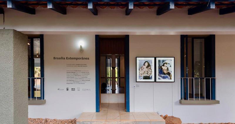 Acceso a la zona de exposición _Casa colonial Niemeyer