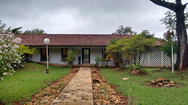 Casa colonial Niemeyer_imagen acceso principal