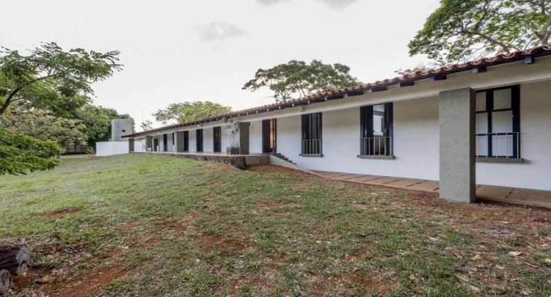 Casa colonial Niemeyer_ vista de la fachada posterior