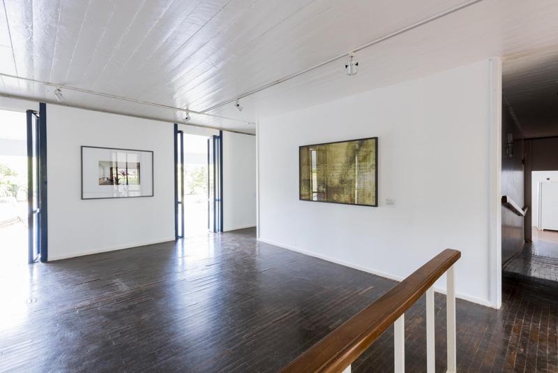 interior de una sala de la  Casa colonial Niemeyer