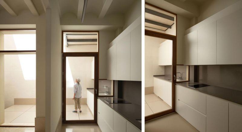 arquitectura casa de los gigantes el cabañal iterare arquitectos foto interior cocina