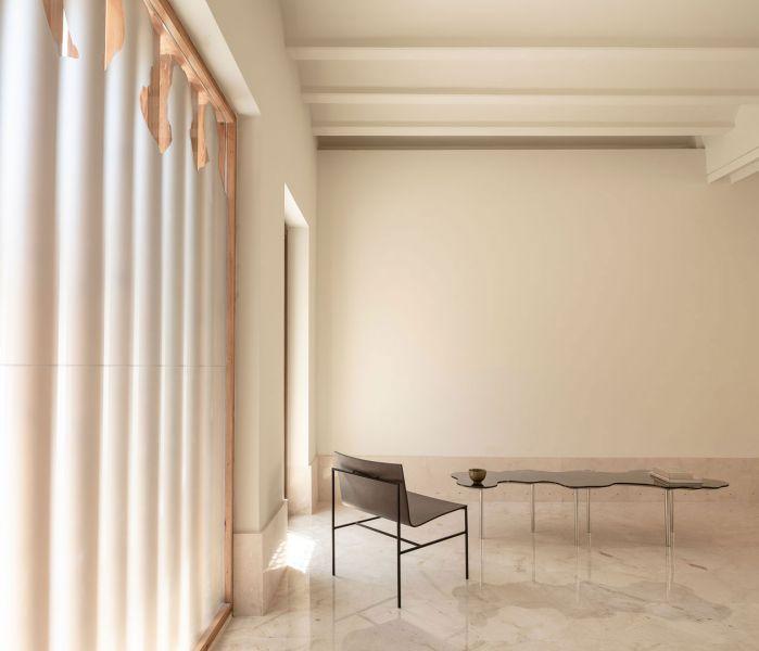 arquitectura casa de los gigantes el cabañal iterare arquitectos foto interior habitacion