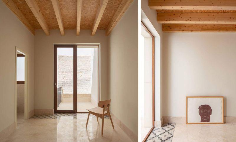 arquitectura casa de los gigantes el cabañal iterare arquitectos foto interior despacho