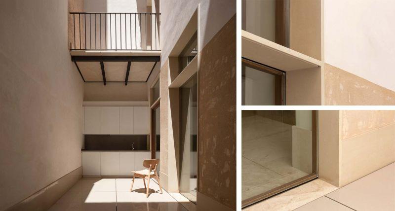 arquitectura casa de los gigantes el cabañal iterare arquitectos foto patio detalles