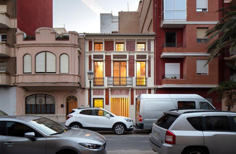 arquitectura casa de los gigantes el cabañal iterare arquitectos foto exterior fachada