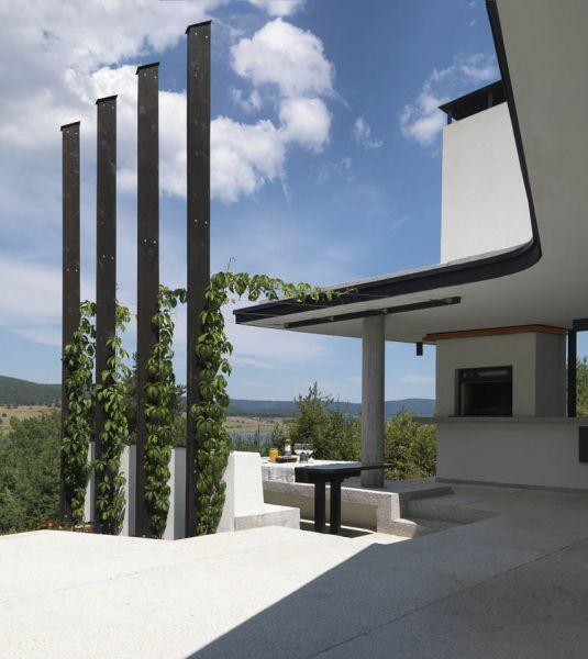 Casa en el  lago de Batak _terraza