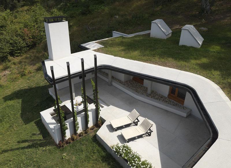 Casa lago Batak_ vista de cubierta