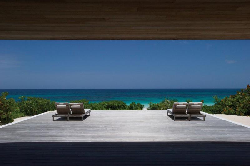 vistas de la playa _ Casa en las dunas_ bahamas_