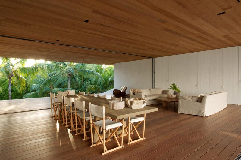 vista salón comedor- Casa en las dunas_ bahamas