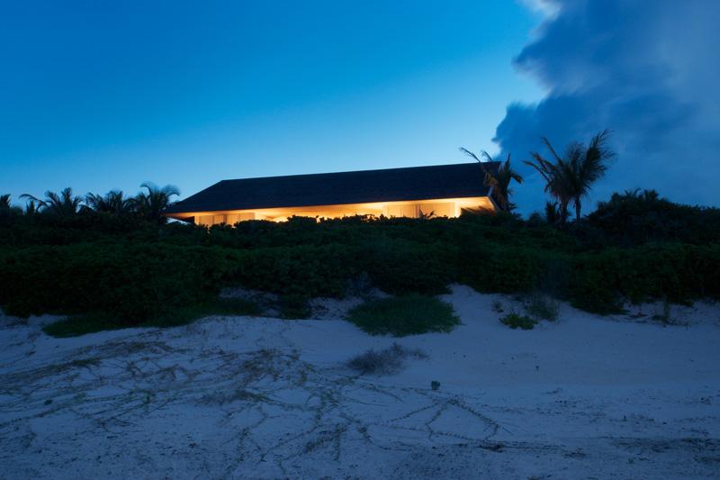 vista desde la playa Casa en las dunas_ bahamas