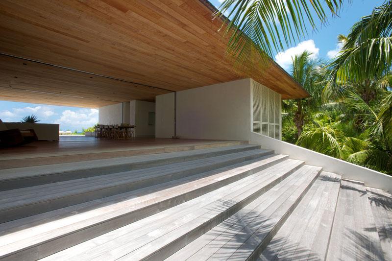 Imagen de acristalamiento y falso techo Casa en las dunas_ bahamas