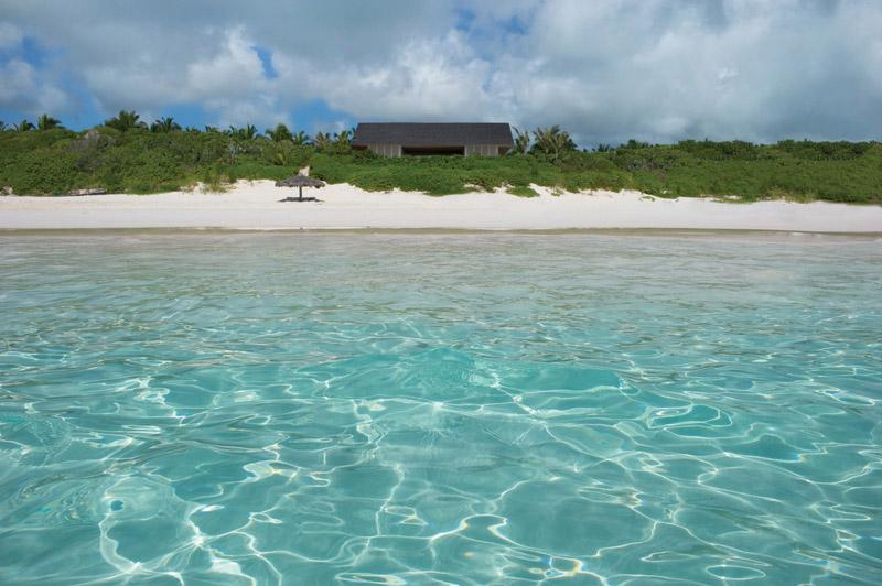 vista desde la playa Casa en las dunas_ bahamas_