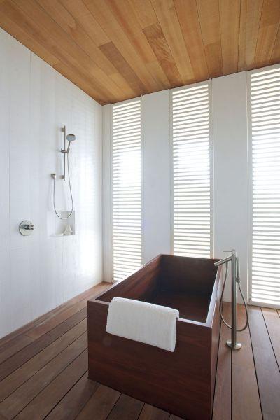 bañera cuarto de baño_ Casa en las dunas_ bahamas