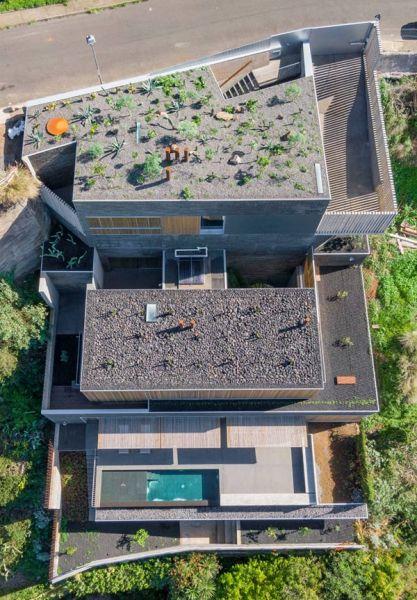 arquitectura casa mama equipo olivares vista aerea volumenes
