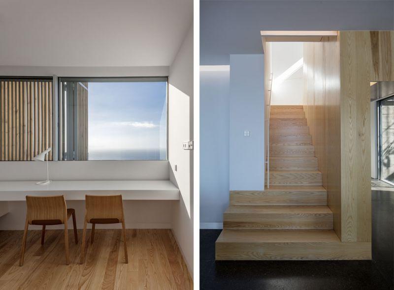 arquitectura casa mama equipo olivares vista interior escaleras estudio