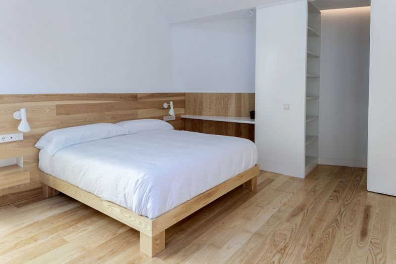arquitectura casa mama equipo olivares vista interior habitacion principal