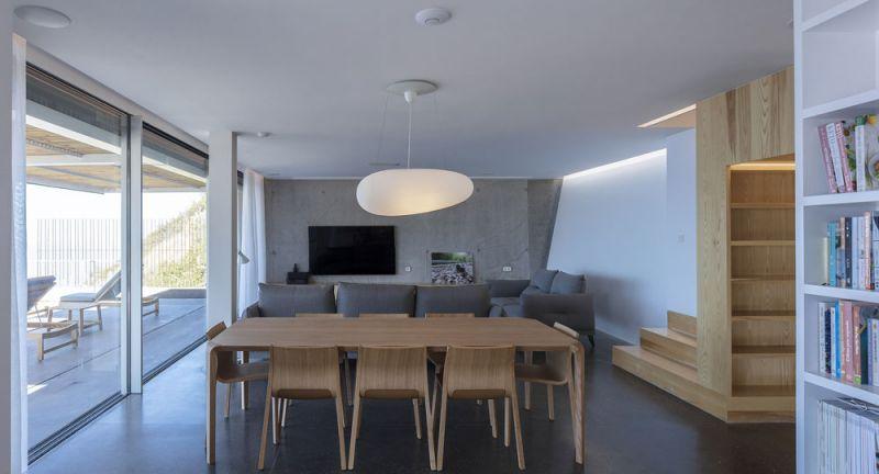 arquitectura casa mama equipo olivares vista interior salon estar