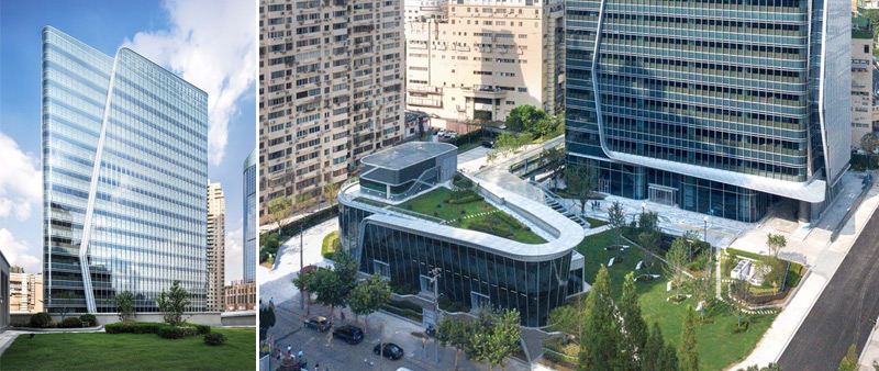 Arquitectura y Empresa, Centro Shanghai  Xujiahui , Ronald Lu & Partners, China, Shanghai, centro comercial, oficinas, espacio comercial, urbanismo, desarrollo urbano, Borui Images, Archi-EXIST