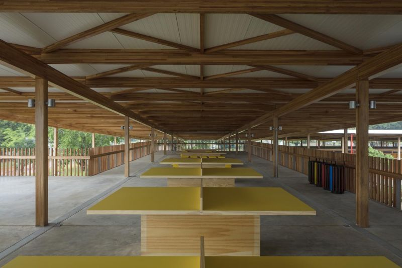 arquitectura y empresa_children village_espacios bajo cubierta