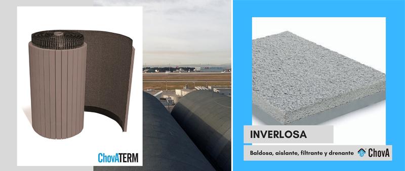 Arquitectura y Empresa, ChovA, rehabilitación, cubierta, aislamiento, impermeabilización, sostenibilidad, sostenible, construcción ecológica, materiales de construcción, cambio climático
