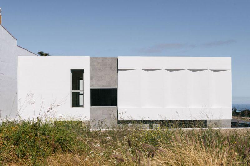 arquitectura y empresa cabrera febles casa leal alzado lateral