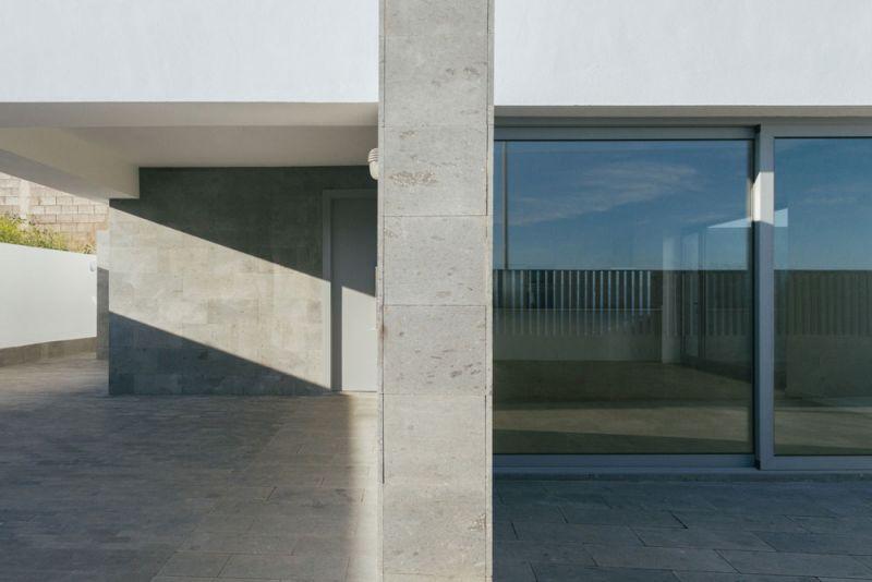 arquitectura y empresa cabrera febles casa leal detalle pilar hormigon