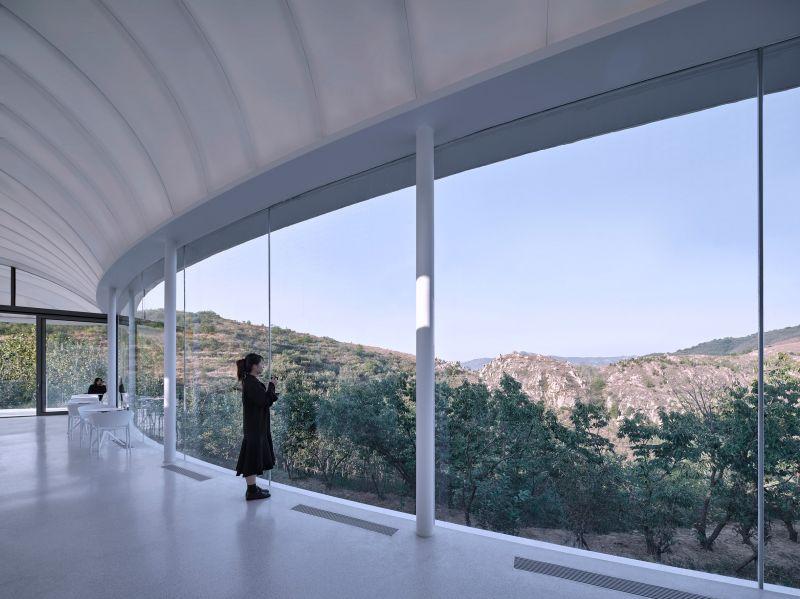 arquitectura_y_empresa_cluod like pavilion_cafetería vista