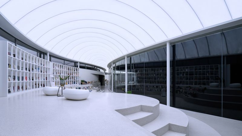 arquitectura_y_empresa_cluod like pavilion_interior gradas