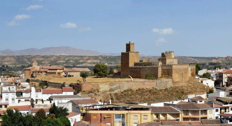 Arquitectura concurso Driehaus Alcazaba Guadix Porpuesta Pisando Fuerte de Zavala y Andrada
