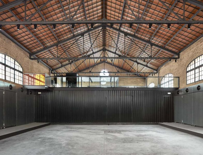 arquitectura nave 3 parque central contell-martinez foto espacio principal