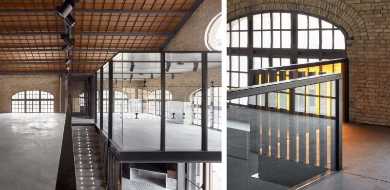 arquitectura nave 3 parque central contell-martinez foto primer piso