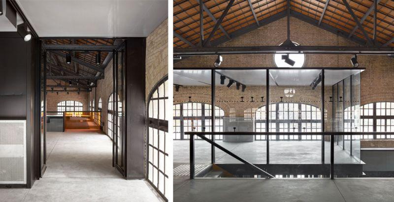 arquitectura nave 3 parque central contell-martinez foto aulas